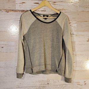 Rock & Republic zipper sweatshirt